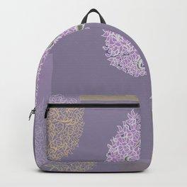 Tree of Life Purple Colorblocks Backpack