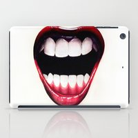 mouth iPad Cases featuring Mouth by Shannon Gordy