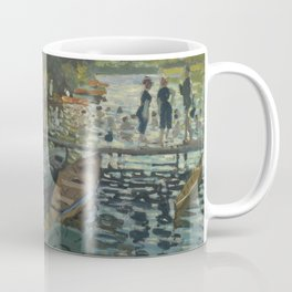 Claude Monet - Bathers at La Grenouillère Coffee Mug