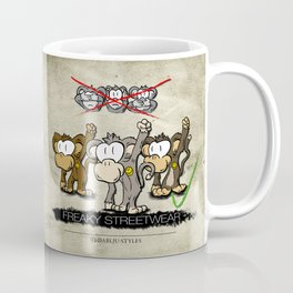 Protest Monkeys Coffee Mug