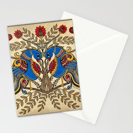 The Gemini peacock  Stationery Cards