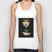 the lord of the rings Tank Tops featuring Frodo - Lord of the Rings by Hilary Rodzik