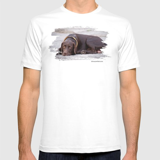 the hound dog T-shirt