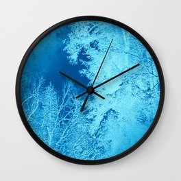 Icy Winter..... Wall Clock