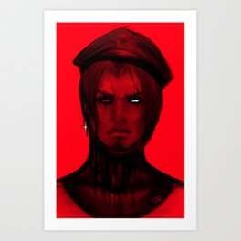 Red Light  Art Print