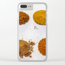 Spice of Life. Clear iPhone Case
