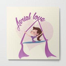 Aerial love (girl version) Metal Print