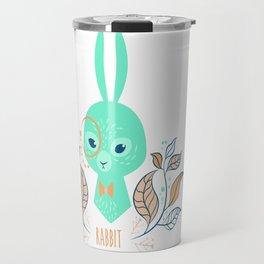 Scandi Rabbit Travel Mug