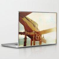 ice cream Laptop & iPad Skins featuring ice cream by Tina Crespo