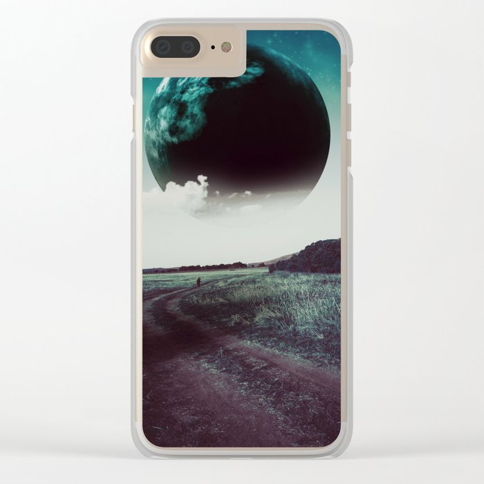 Long way home II Clear iPhone Case