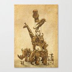 Mechanical Menagerie  Canvas Print