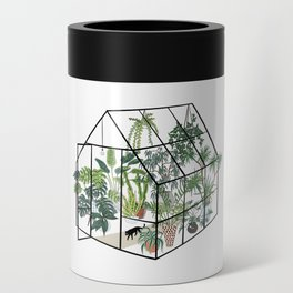 greenhouse with plants Can Cooler