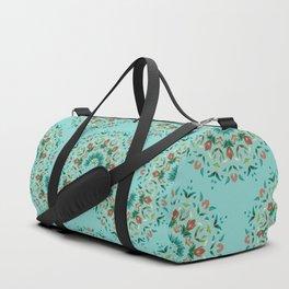 Floral Mandala pattern 1.2b Duffle Bag