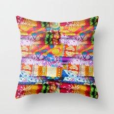 Gipsy Blanket Throw Pillow