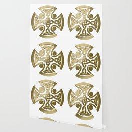 Celtic golden knot Wallpaper