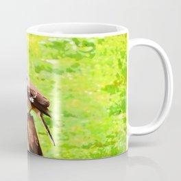 The Bird Painting Coffee Mug