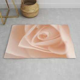 Light Pink Rose Rug