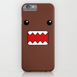 Domo Kun - Brown Japanese Monster iPhone Case