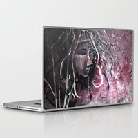 "cassandra jean Laptop & iPad Skins featuring A Carneval Cassandra by Barbora ""Mad Alice"" Urbankova"