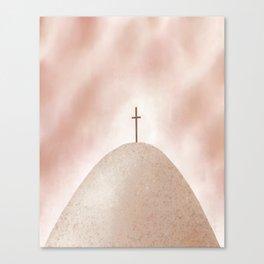 God's Rescue Plan | Earthy Canvas Print