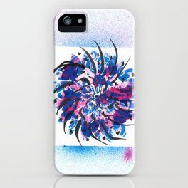 Radial Mandala iPhone Case