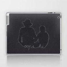 Simply Harry Styles and Louis Tomlinson (Oops Hi) Laptop & iPad Skin