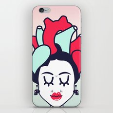 Frida Heart iPhone & iPod Skin