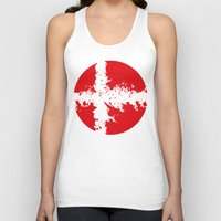 denmark Tank Tops featuring in to the sky, Denmark  by seb mcnulty