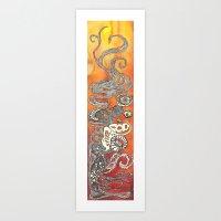 Fire Belly Art Print