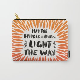 Bridges Burned – Fiery Palette Carry-All Pouch