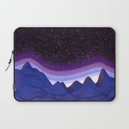 Mountains in Space Laptop Sleeve