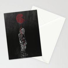 Balloon man Stationery Cards