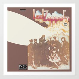Zeppelin II Led (Remastered) by Zeppelin Art Print