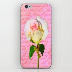 Rose Unfolding iPhone & iPod Skin