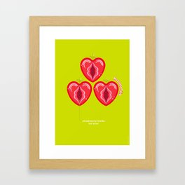 Strawberry fields Framed Art Print