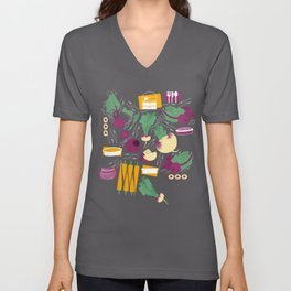Root Vegetables Unisex V-Neck
