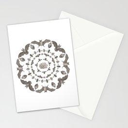 Bats Mandala Stationery Cards