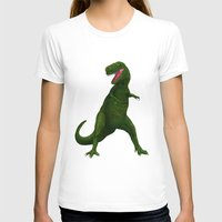 t rex T-shirts featuring T Rex by Lydia Meiying
