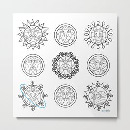 Astrology 3 Metal Print