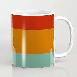 Yoshika - Multicolor Retro Stripes Coffee Mug