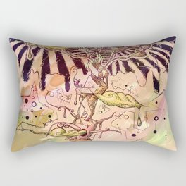 Magic Beans (Alternate colors version) Rectangular Pillow