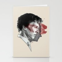 johnlock Stationery Cards featuring Johnlock by Cécile Pellerin