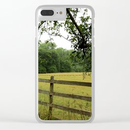 English Countryside Clear iPhone Case