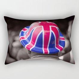 A Patriotic Boy Rectangular Pillow