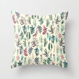 suave garden Throw Pillow