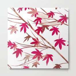 Maple Ornament Metal Print