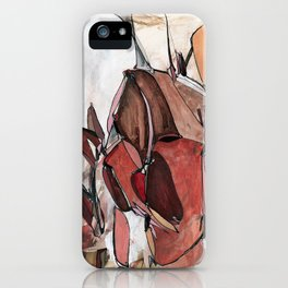Red Harvest iPhone Case