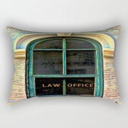 Law Office Rectangular Pillow