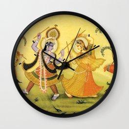 Krishna - Hindu Wall Clock