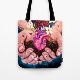 Nature is one's innerself Tote Bag